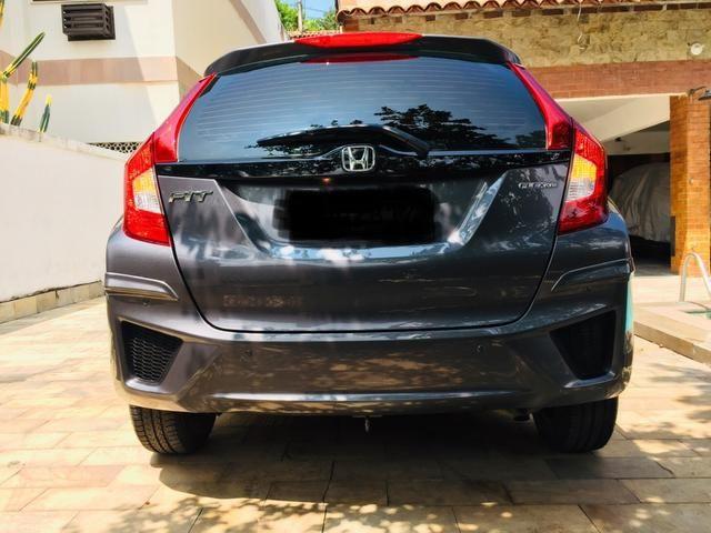 Honda Fit automático com couro e multimedia, ún.dona com 60 mil km!!!! - Foto 5