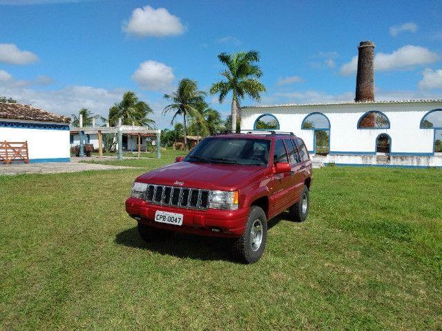 Jeep Gran Cherokee Laredo 98 4x4 gnv. Extra. Toda restaurada