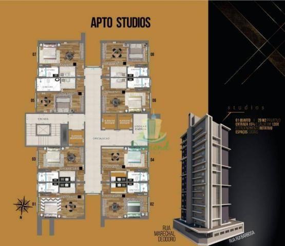 Apartamento com 1 dormitório à venda com 28 m² por R$ 272.832 no Prestige Mercosul Studios - Foto 9