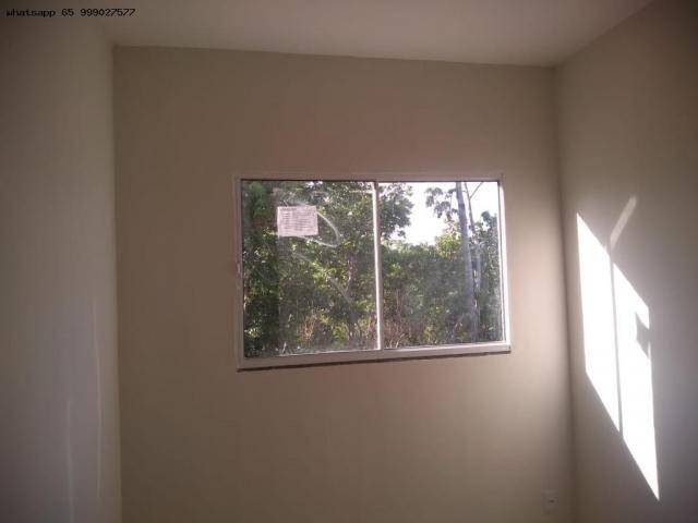 Casa para Venda em Várzea Grande, São Benedito, 2 dormitórios, 1 banheiro, 2 vagas - Foto 3