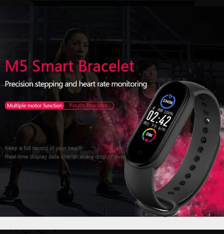 Relógio pulseira inteligente M5 ??