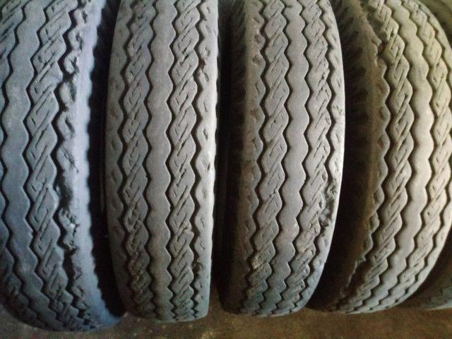 Pneus usados CAMINHÃO Kombi Passeios (inmetro e ISO9001) - Foto 5