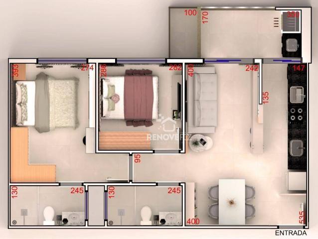 Apartamento com 2 dormitórios à venda, 64 m² - Centro - Foz do Iguaçu/PR - Foto 20