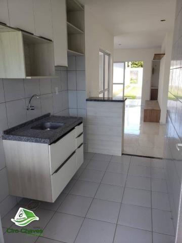 Casa à venda, 75 m² por R$ 179.990,00 - Timbu - Eusébio/CE - Foto 3