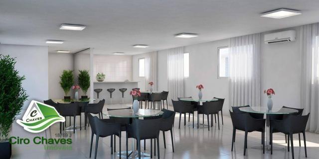 Apartamento à venda, 40 m² por R$ 150.900,00 - Centro - Eusébio/CE - Foto 3