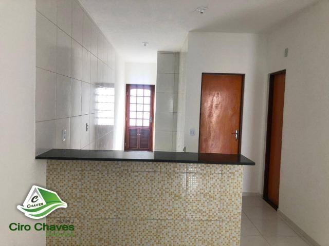 Casa com 2 dormitórios à venda, 80 m² por R$ 135.000 - Bairro: Novo Ancuri - Itaitinga/CE - Foto 12
