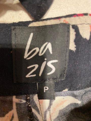 Conjunto Cropped E Pantalona Cintura Alta Florido Bazis - Foto 3