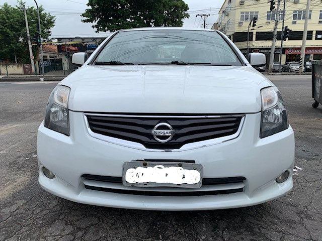 Nissan Sentra 2013 S Automatico + Ipva 2021 Pago + Bc de Couro - Foto 9