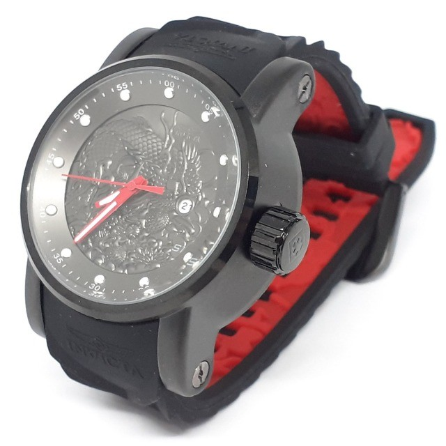 Relógio Invicta 18213 S1 Rally Yakuza Automático Preto