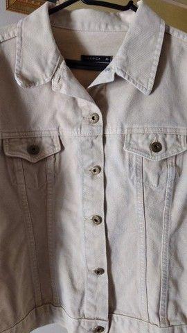Jaqueta jeans feminina adulta  - Foto 5