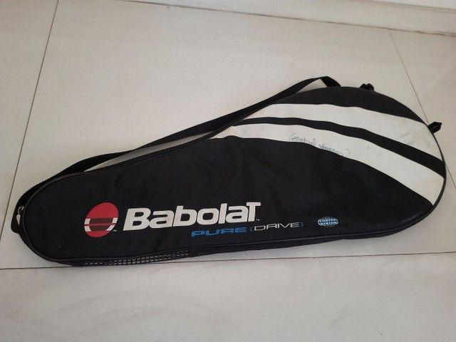 Capa para raquete de tênis