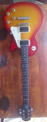 Guitarra Epiphone Lês Paul LP 100 Heritage Cherryburst Hs - Foto 4