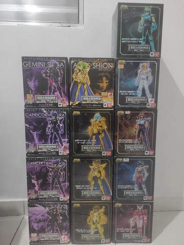 Coleção Bandai Saint Seya Cloth myth Ex