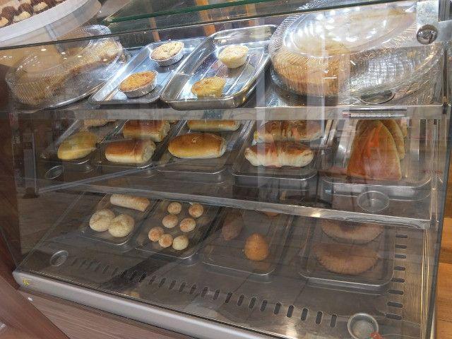 Linda Casa De Café Expresso Pratos Rápidos Café Salgados Bolos Lindíssima