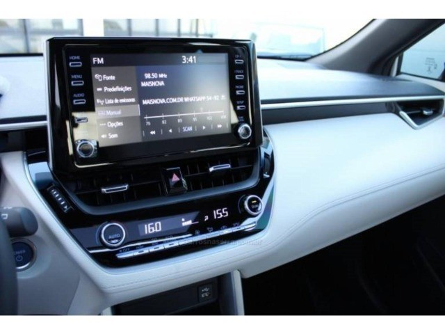 Toyota Corolla Cross XRX 1.8 HEV Cvt  2021/2022 - Foto 8