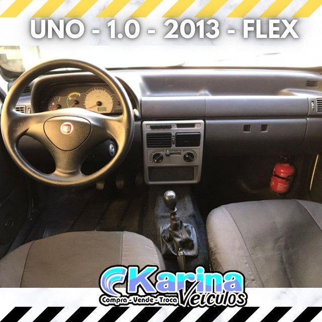 Uno Mille - 1.0 - 2013 - Flex - ótima oferta para um ótimo carro!!! - Foto 3