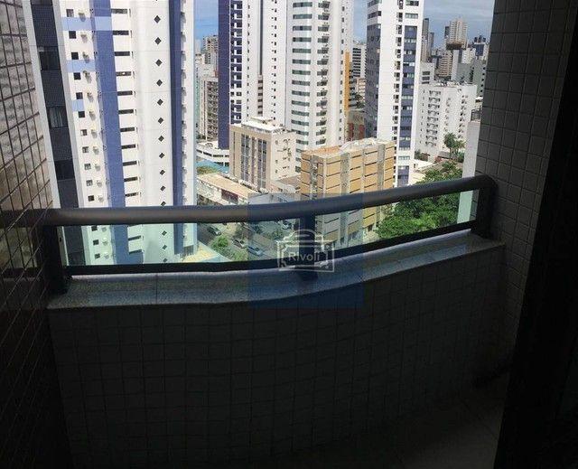 Apartamento com 1 dormitório para alugar, 35 m² por R$ 1.900/mês - Boa Viagem - Recife/PE - Foto 2