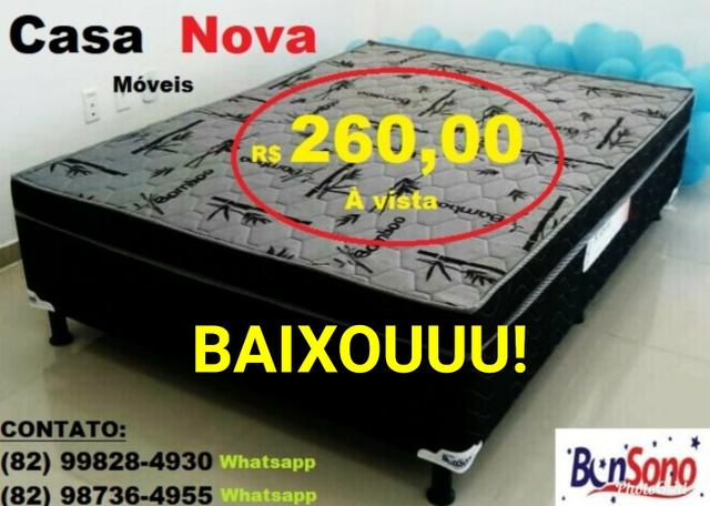 Cama Box Casal BonSono 260 Reais