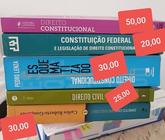Livros concurso/oab/direito
