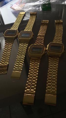 1868e6a8b93 Relógio Casio dourado - Bijouterias