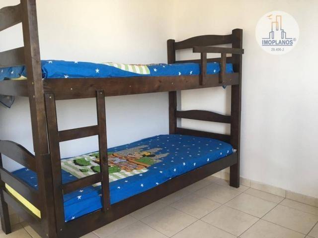 Apartamento com 2 dormitórios à venda, 76 m² por r$ 270.000 - campo da aviação - praia gra - Foto 18