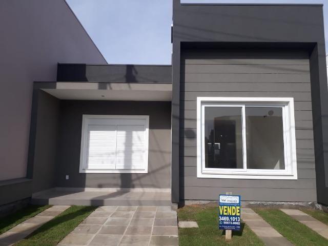 VM Imoveis vende casa pronta de 3 dorms no cond Vale dos lírios em Gravataí