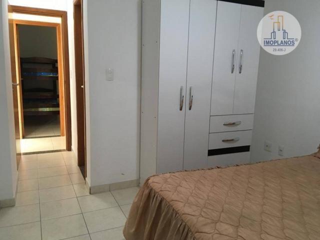 Apartamento com 2 dormitórios à venda, 76 m² por r$ 270.000 - campo da aviação - praia gra - Foto 14
