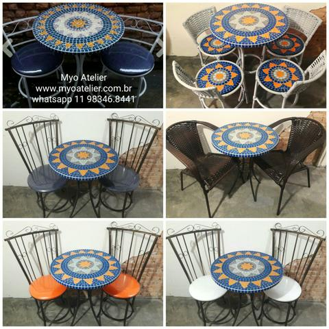 Moveis, mesa, varanda, sacada, cadeira, banqueta - Foto 3