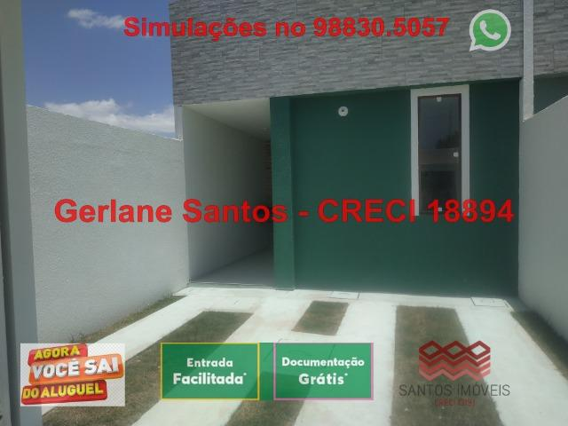 Novo Ancuri, Com Portão Duplo, 2 dormitórios, 2 banheiros - Foto 2