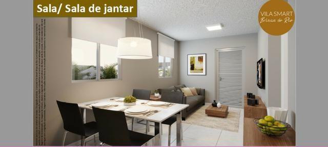 Vendo Linda Casa no Vila Smart Brisas do Rio 02 quartos com 39,62m2 - Foto 2
