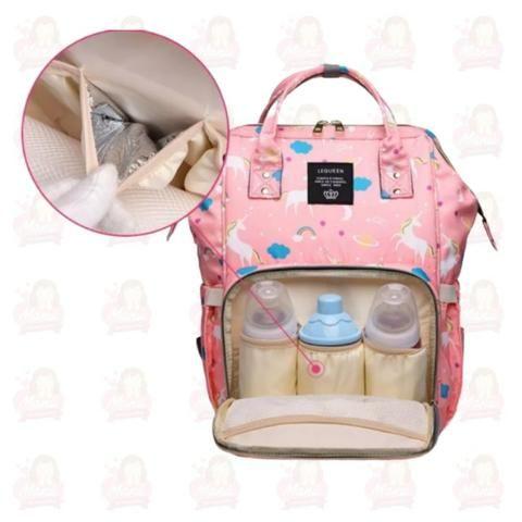 Bolsa Unicórnio Maternidade Lequeen - Foto 2