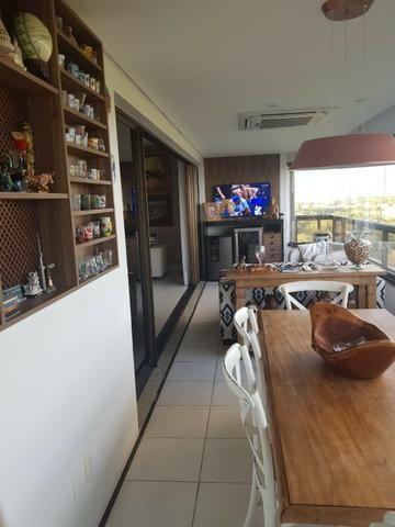 Apartamento Grenville Lumno 4 Suítes 225m2 Alto Decorado Nascente linda vista mar - Foto 7