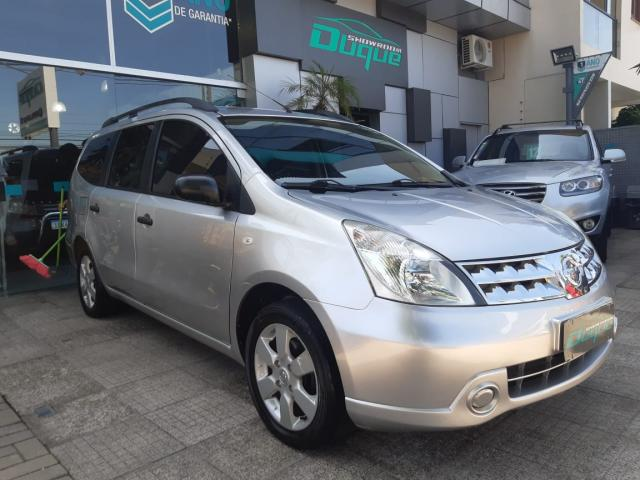Nissan LIVINA GRAND S 1.8 16V Flex Fuel Mec. 2012 Gasolina