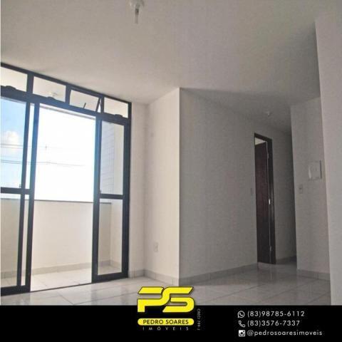 Apartamento com 2 dormitórios à venda, 61 m² por R$ 122.000 - Paratibe - João Pessoa/PB - Foto 3
