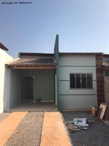 Casa para Venda em Várzea Grande, Paiaguas, 2 dormitórios, 1 suíte, 2 banheiros, 2 vagas - Foto 3