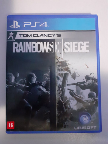 Jogo TOM CLANCY'S Rainbow Six (Seminovo)