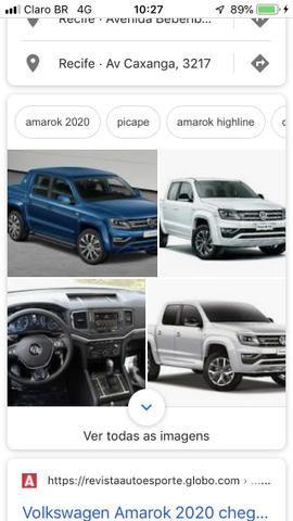 Vw/amarok v6 higline diesel/2020 okm a faturar