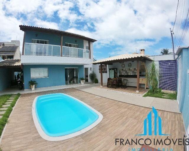 Espetacular casa Duplex com 06 Qts e lazer completo na Praia do Morro