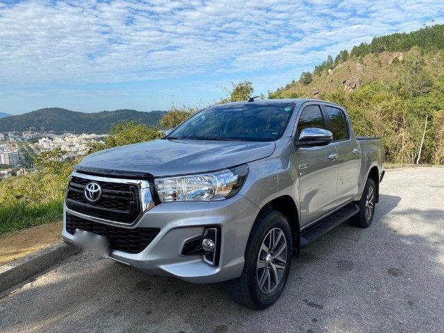 Toyota Hilux SRV Flex 2019 Aut - Foto 5