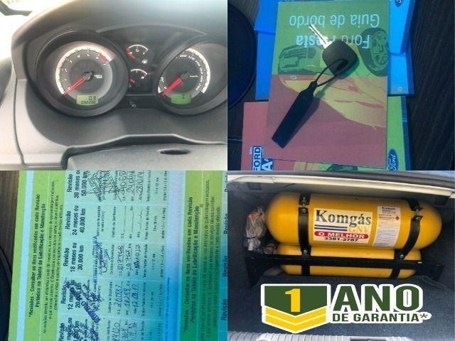 Fiesta Sedam 1.6 Completo + GNV V geração ótimo estado geral entrada R$ 3990,00 + 48 X - Foto 17