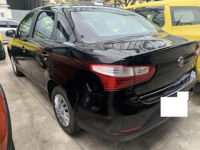 Fiat grand siena tetra ex taxi, completo+gnv, aprovação imediata, basta ter nome limpo - Foto 4
