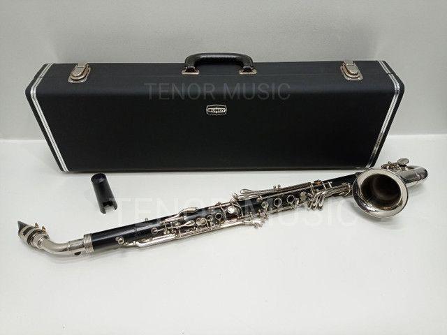 Clarone / Clarinete Alto Selmer USA ORIGINAL - Foto 2