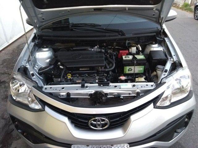 Toyota Etios Hatch 1.3X 2018 Completo Único Dono Novíssimo - Foto 9