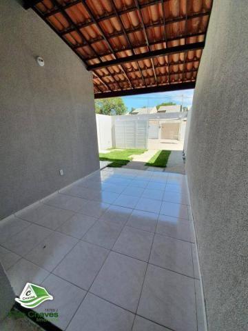 Casa com 2 dormitórios à venda, 81 m² por R$ 140.000,00 - Jabuti - Itaitinga/CE - Foto 14