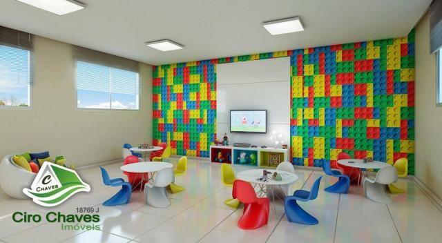 Apartamento à venda, 40 m² por R$ 150.900,00 - Centro - Eusébio/CE - Foto 2