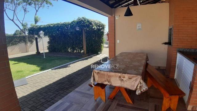 Apartamento com 2 dormitórios à venda, 63 m² por R$ 305.000,00 - Parque Ouro Verde - Foz d - Foto 3