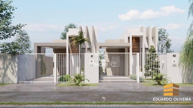 Casa com 1 dormitório à venda, 69 m² por R$ 330.000,00 - Loteamento Florata - Foz do Iguaç