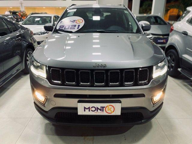 Jeep compass Sport 2021; MontK veículos anuncia