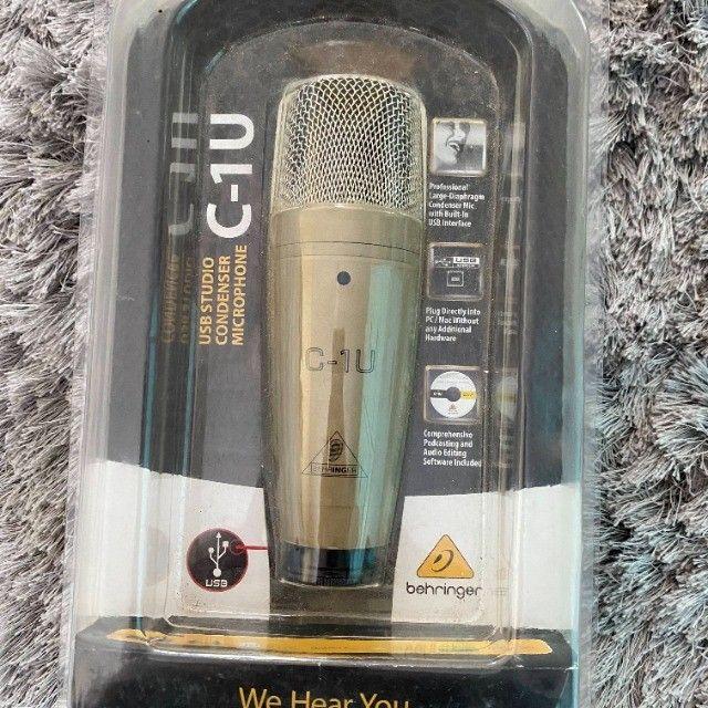 Microfone Behringer C-1u Condensador Usb