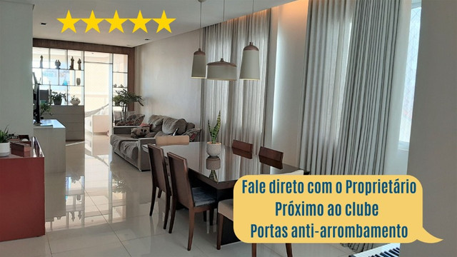 Apartamento, 4 quartos, Jaraguá c/ Proprietário (portas blindadas) - Belo Horizonte - MG